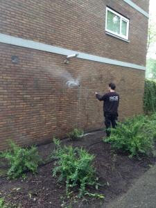 RCS Dienstverlening Gevelreiniging Graffiti verwijdering Almere